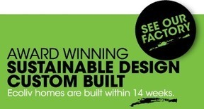 Prefabricated & Modular Homes for Sustainable Living - Ecoliv | choosing desing for a sustainable house | Scoop.it