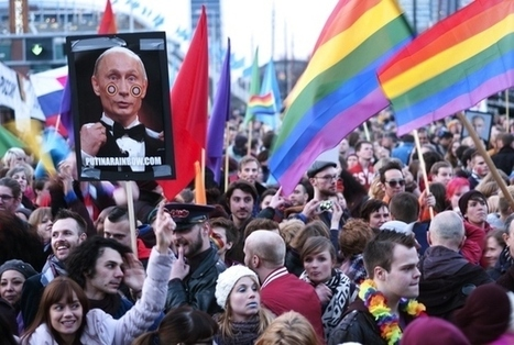 "Russia Accuses EU Of ""Aggressive Propaganda Of Homosexual Love"" 