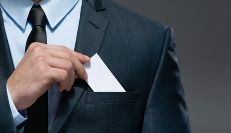 3 Rules of Business Card Etiquette | Online Learning | Scoop.it