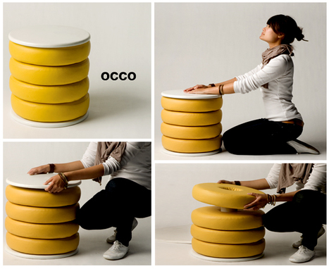 Minimalist and multifunctional table | #Design | Scoop.it