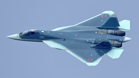 Newly captured photo shows Russia's new badass shark stealth fighter | YF-23 | Scoop.it