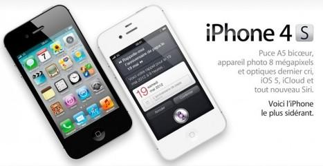 Apple : 4 millions d'iPhone 4S en 72h, plus de 20 millions d'utilisateurs pour iOS 5 et iCloud ! | BlogiPhone | Mobilité | Scoop.it