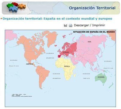 España a Través de los Mapas | Recursos Educativos para ESO, Geografía e Historia | Scoop.it