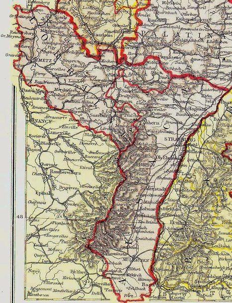 Les Vosges comme frontière de l'Alsace (1871-1914) | Frontières et espaces frontaliers dans le monde. | Scoop.it