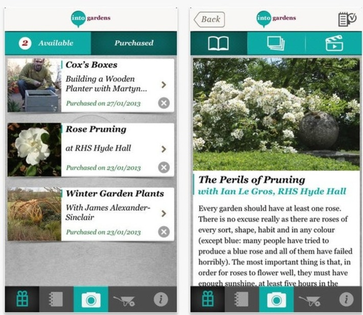 The best gardening apps for spring | Garden apps for mobile devices | Scoop.it