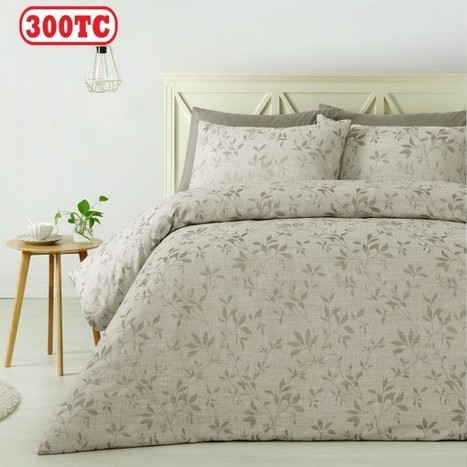 300TC Mae Jacquard Quilt Cover Set by Accessorize - Manchester House | Soft Furnishings | Scoop.it