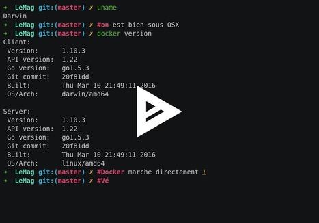Docker sous Mac & Windows, le renouveau ! - SFEIR Mag | Docker (French) | Scoop.it