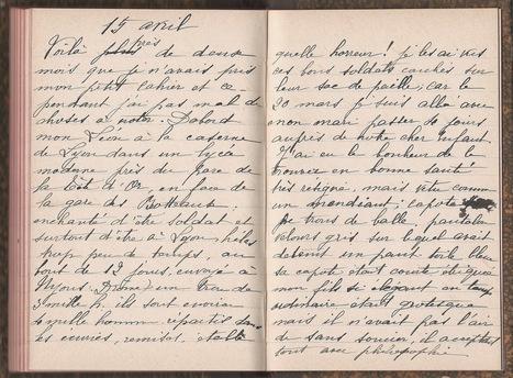 Le journal de Léontine - Marine et ses ancêtres... | Nos Racines | Scoop.it