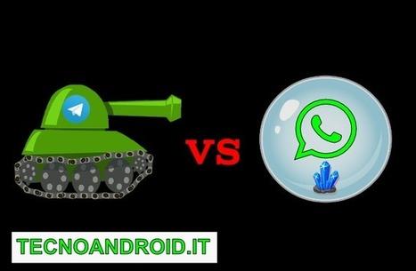 13 Motivi per Passare da WhatsApp a Telegram ed Evitare di Essere ... - TecnoAndroid | Sms gratis | Scoop.it