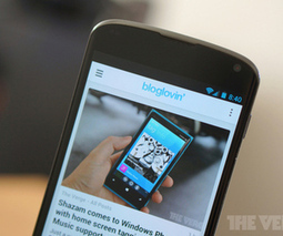 Google Reader meets Flipboard: Bloglovin' launches Android, iPad apps - The Verge | Android | Scoop.it