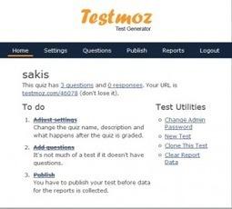 TestMoz. Generateur de tests en ligne | TICE et formation FOS | Scoop.it