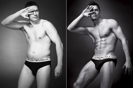 Let's Hear It For The Boys:  Real Men Take On Male Models By Recreating Underwear Ads | Body Image | Scoop.it