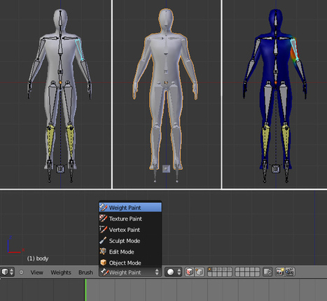 Building A Basic Low Poly Character Rig In Blender | iClone&Blender&All Real Animation | Scoop.it