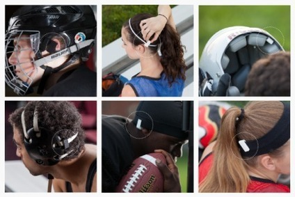 Wearable clip tells parents, coach about head impact | Sport innovation | Scoop.it