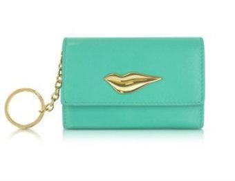 Diane Von Furstenberg Lips Card Case with Keychain - Purse Page   Top Handbags   Scoop.it