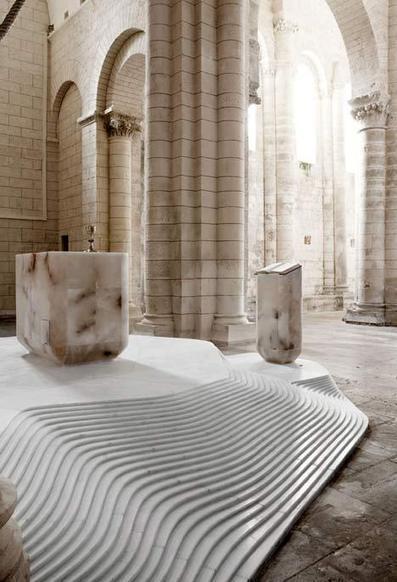 St Hilaire church in Melle by Mathieu Lehanneur - Dezeen | CAP IMAGE | Scoop.it