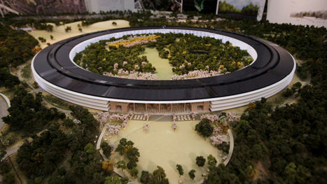 Apple Campus 2 New Aerial Drone Footage At Sunset [Video] | Technology | Scoop.it