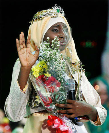 Nigerian Obabiyi Aishah Ajibola wins Muslim beauty pageant rival to Miss World - Times of India   International Affairs and Diplomacy   Scoop.it