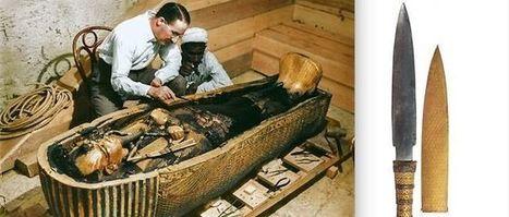 La dague de Toutankhamon a bien été forgée dans une météorite métallique | Aux origines | Scoop.it