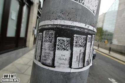 Hacked IRL: Dublin's Digital Library | QR Code en Bibliothèques | Scoop.it