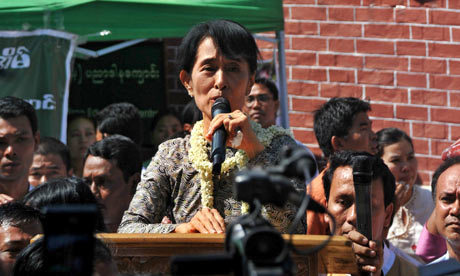 Aung San Suu Kyi to run for parliament   Coveting Freedom   Scoop.it