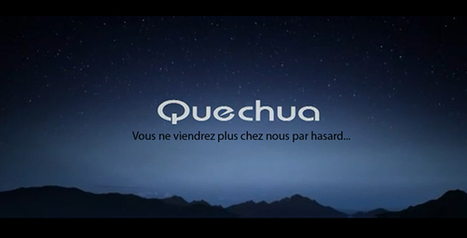 Quechua disponible chez Total ? | Branding News & best practices | Scoop.it