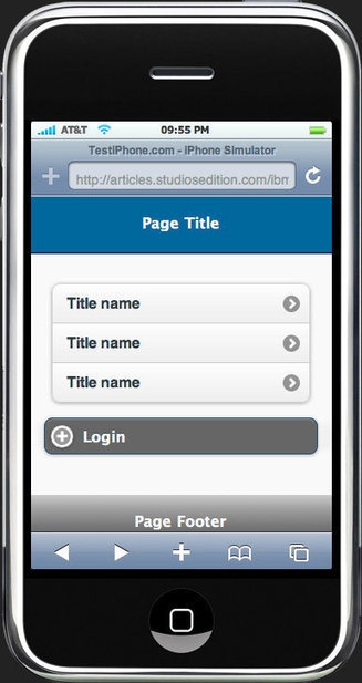 Create custom jQuery mobile themes | Development on Various Platforms | Scoop.it