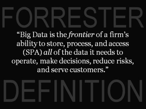 The Pragmatic Definition Of Big Data | Forrester Blogs | Big Data for SMBs | Scoop.it