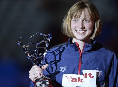 Swimming star Katie Ledecky, 16, named USOC Sportswoman of the Year - Washington Post | Swimmingly Yours | Scoop.it