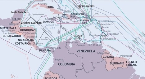 TeleGeography publica su mapa anual de cables submarinos | educacion-y-ntic | Scoop.it