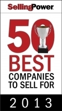 50 Best Companies to Sell For - 2013 | SellingPower.com | Social Selling:  with a focus on building business relationships online | Scoop.it
