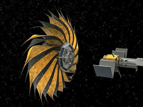 The flower-shaped starshade that might help us detect Earth-like planets | iScience Teacher | Scoop.it