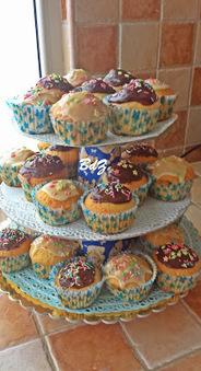Baci di Zucchero: Muffin e cupcake glassati e decorati | I miei scoop.. | Scoop.it