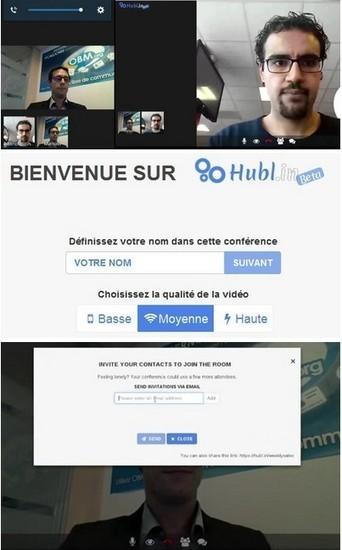 Hubl.in Fr 2016 Service professionnel gratuit Collaboration en ligne Vidéo conférence 9 personnes et chat | Logiciel Gratuit Licence Gratuite | Scoop.it