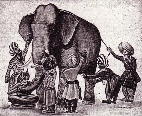 Fable indienne sur l'intelligence collective: les aveugles et l'éléphant | am-designthinking-blog | IT & Innovation | Scoop.it
