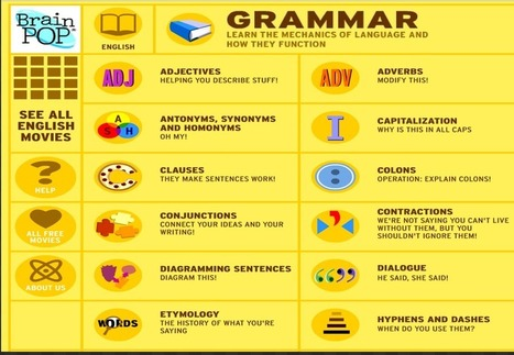 7 Great Grammar Sites for Teachers and Students ~ Educational Technology and Mobile Learning | Total Quality Management in Education | Scoop.it