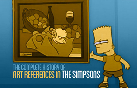 The Complete History Of Art References In The Simpsons | arts visuels | Scoop.it