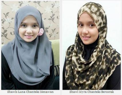 Cantik Berhijab Dengan Fesyen Terkini Shawl Dari Hijabterkini.com | encik titan | Scoop.it