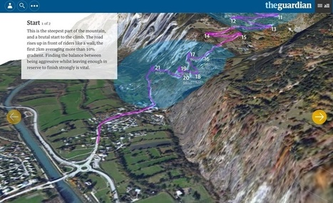 How We Made the 3D Tour de France Interactive - Features - Source: An OpenNews project   GeoWeb OpenSource   Scoop.it