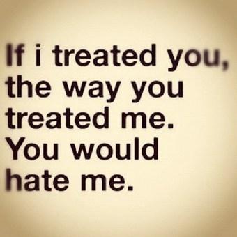 Trust me, you'll hateme. | Favorite Quotes. | Scoop.it