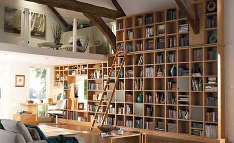 25 Creative Book Storage Ideas and Home Library Designs | Creative Homestyle | Scoop.it