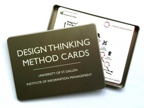 Method Cards – beta 1.0 | Design Thinking @ HSG | Established in 2005. Prototyping since back then. | Designing  services | Scoop.it