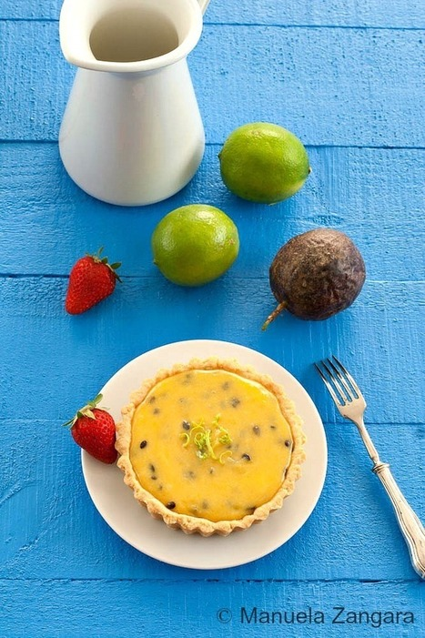 Passion fruit Curd and Lime Tarts - #Cooking #Recipes | The Man With The Golden Tongs Hands Are In The Oven | Scoop.it