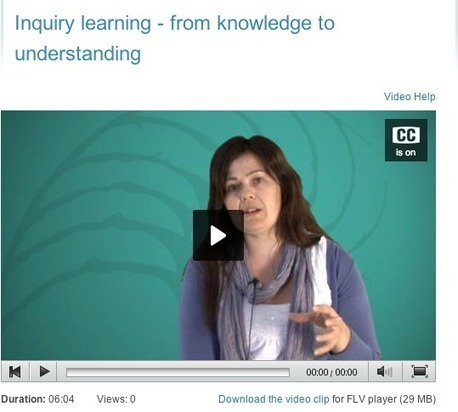 Inquiry learning / Effective pedagogy Curriculum stories | Voices in the Feminine - Digital Delights | Scoop.it