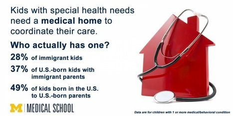 A new home - but with no medical home? Study of immigrants' kids with special health needs | Sustain Our Earth | Scoop.it