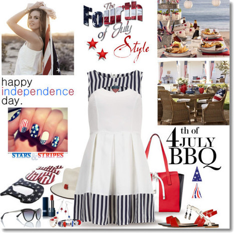 Weekly Top Ten Looks from Polyvore- 4th of July Outfits | Best of the Los Angeles Fashion | Scoop.it
