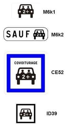 Covoiturage: voici la nouvelle signalisation   Prévention et Signalisation Routière   Scoop.it