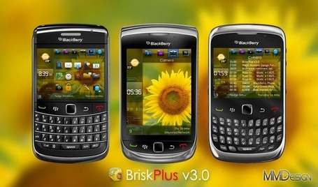 Official AndreasCY: Blackberry Theme: Brisk Plus (OS7 UI Theme) | The *Official AndreasCY* Daily Magazine | Scoop.it