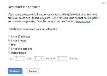 Comment restaurer des contacts supprimés par erreur dans Gmail | Freewares | Scoop.it