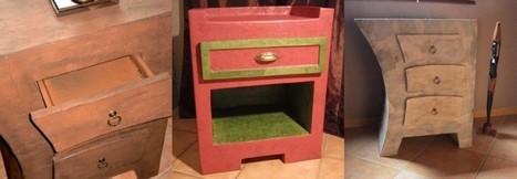 recyclage du carton | CARTONRECUP - Cartonrecup.com | meubles et objets en carton | Scoop.it